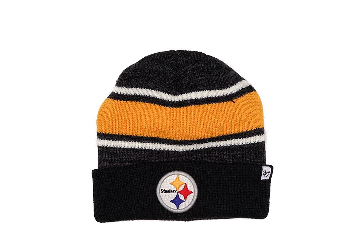 FAIRFAX CUFF KNIT HAT - STEELERS