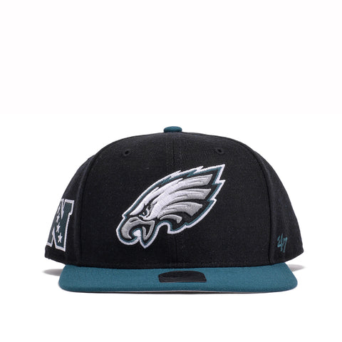 PHILADELPHIA EAGLES SUPER SHOT TWO TONE '47 CAPTAIN - BLACK