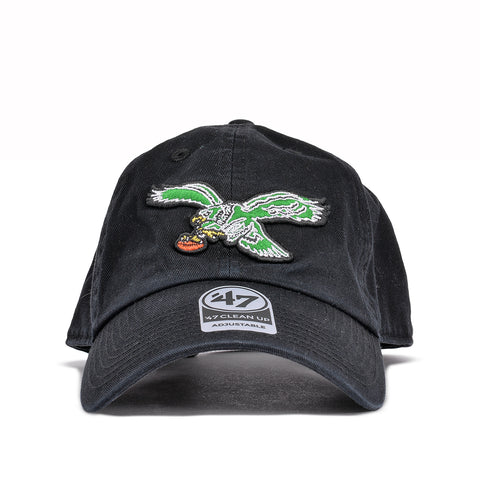 "PHILADELPHIA EAGLES CLASSIC LOGO ""DAD HAT"" - BLACK"