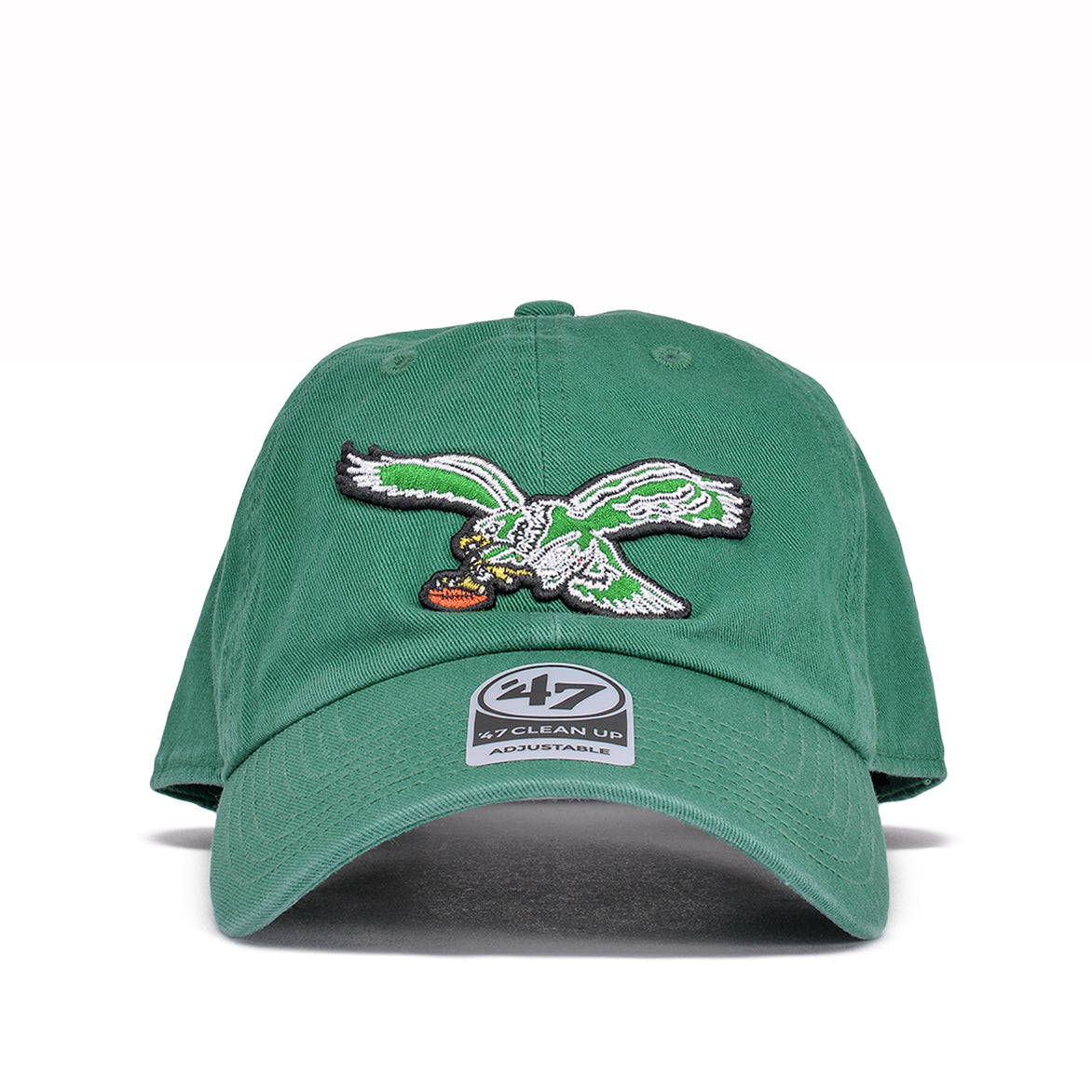 "PHILADELPHIA EAGLES CLASSIC LOGO ""DAD HAT""-  GREEN"