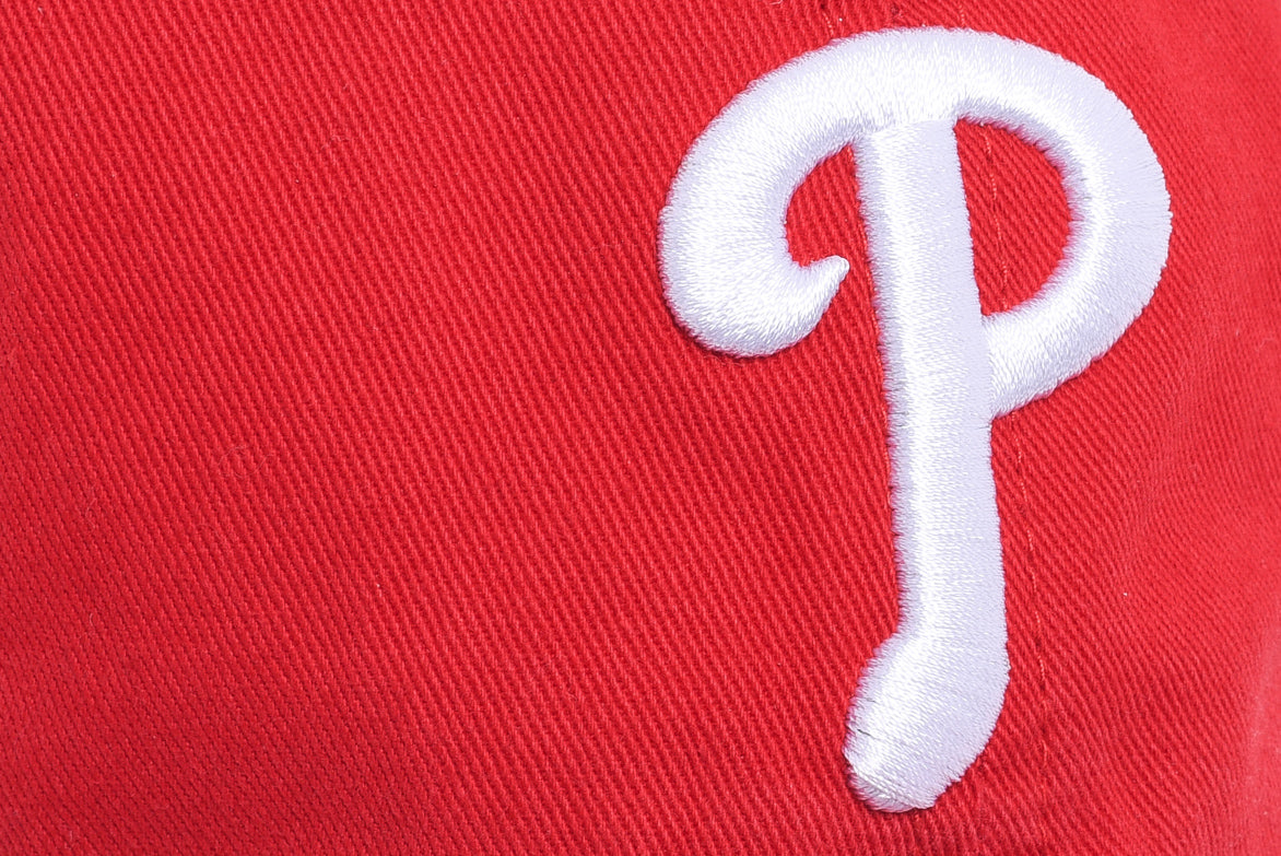 "PHILLIES CLEAN UP ""DAD HAT"" - RED"