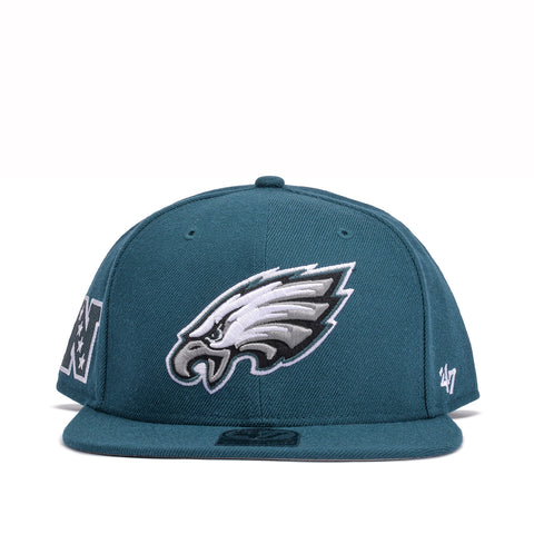 PHILADELPHIA EAGLES SUPER SHOT '47 CAPTAIN - GREEN