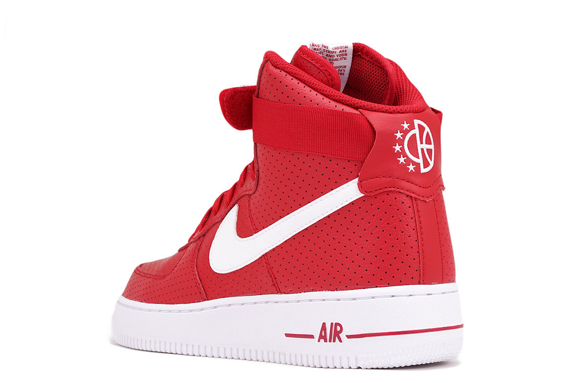 AIR FORCE 1 HIGH `07 - GYM RED / WHITE