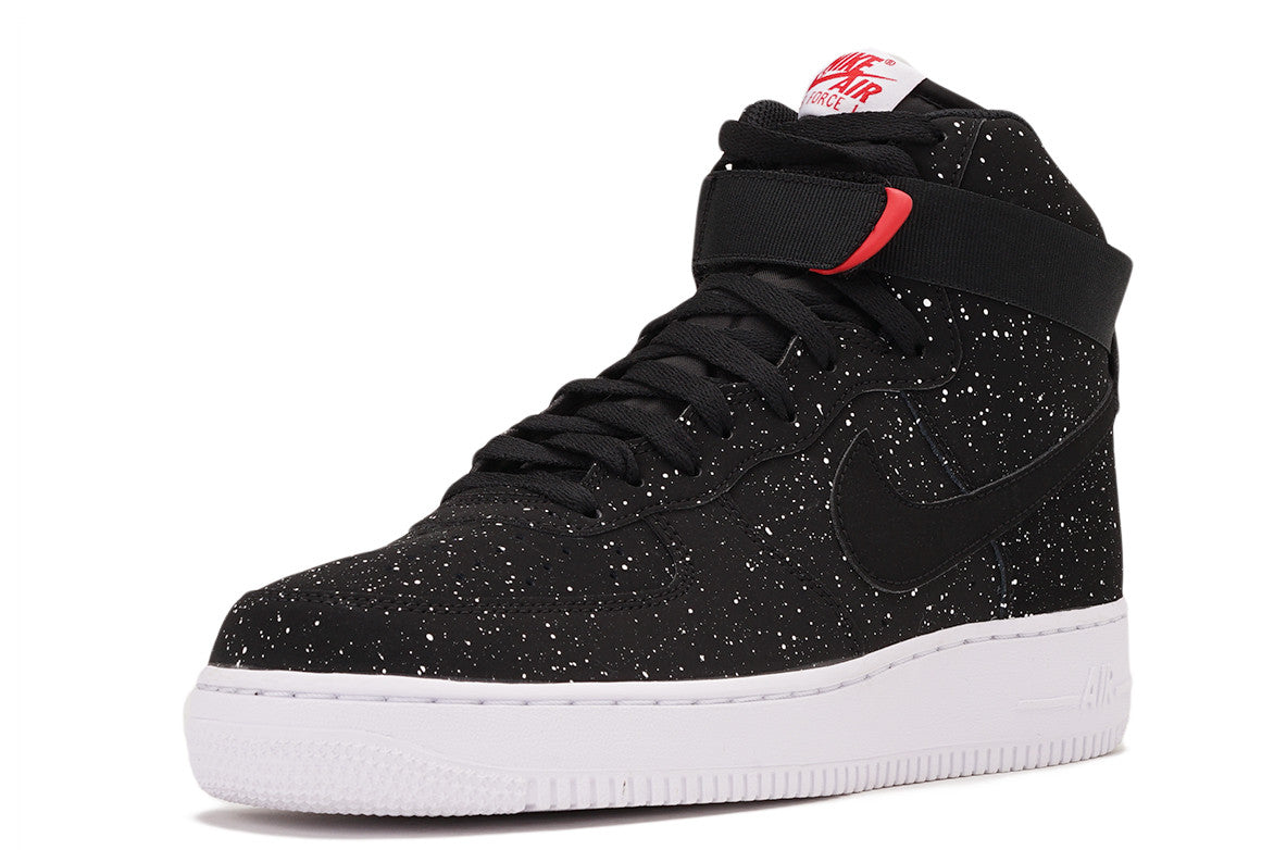 AIR FORCE 1 HIGH `07 - BLACK / WHITE SPECK
