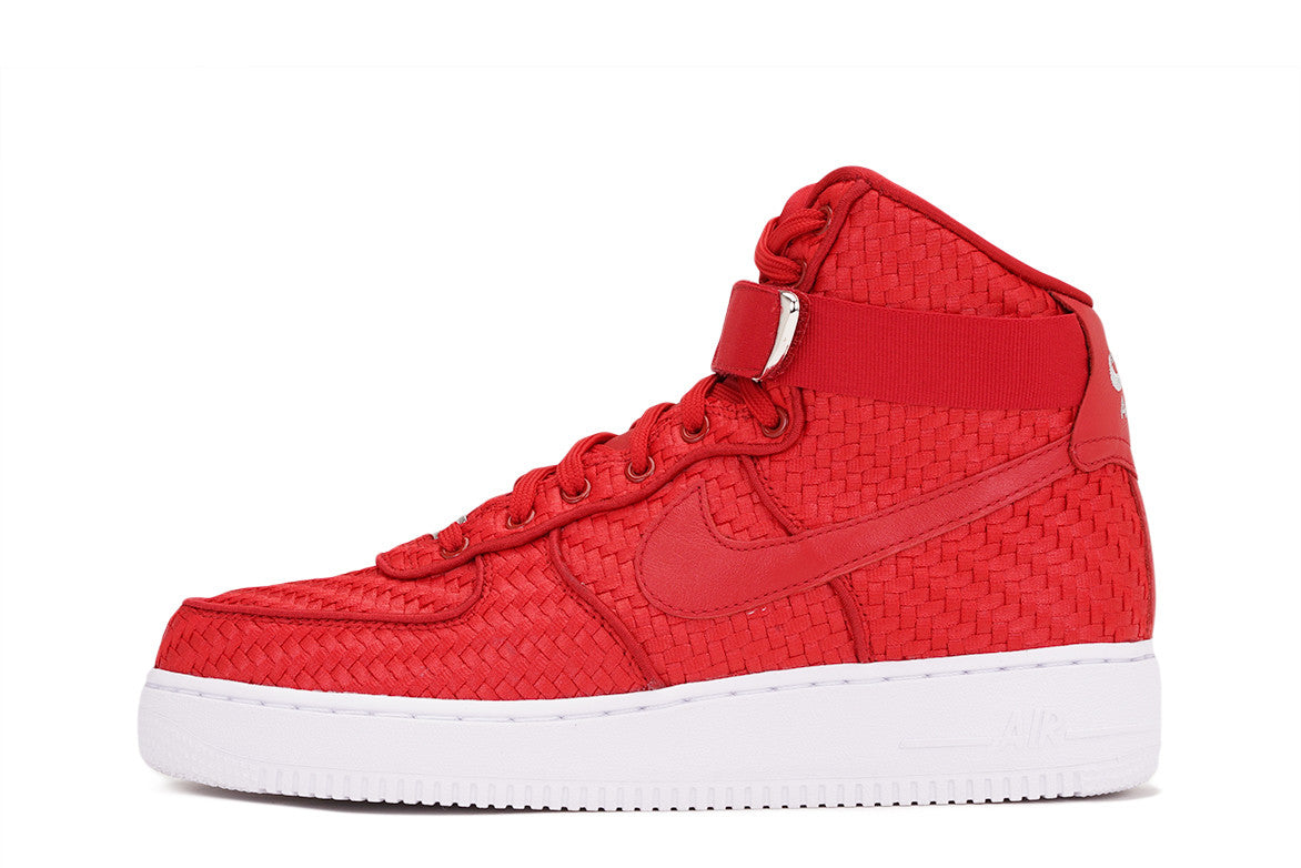 AIR FORCE 1 HIGH '07 LV8 WOVEN - GYM RED