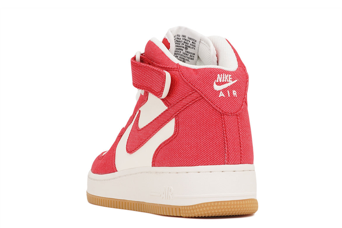 AIR FORCE 1 MID `07 - UNIVERSITY RED / WHITE
