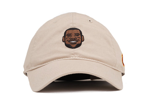 PLAYER DAD HAT LEBRON JAMES - TAN