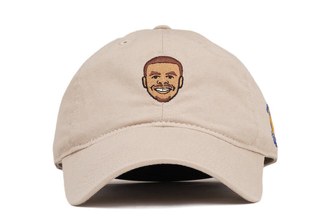 PLAYER DAD HAT STEPHEN CURRY  - TAN