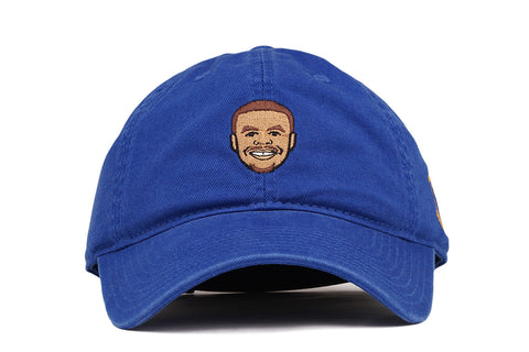 PLAYER DAD HAT STEPHEN CURRY - BLUE