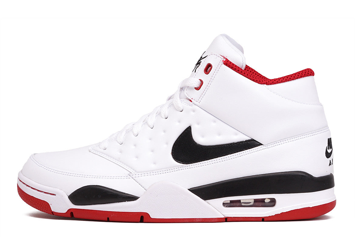 the latest 5f3b7 ae322 Air Flight Classic White Red Black