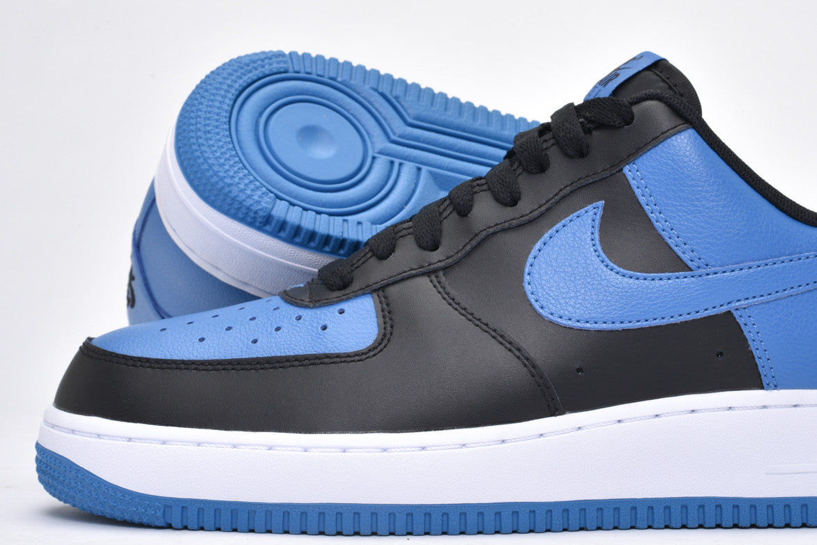AIR FORCE 1 - BLACK / STAR BLUE