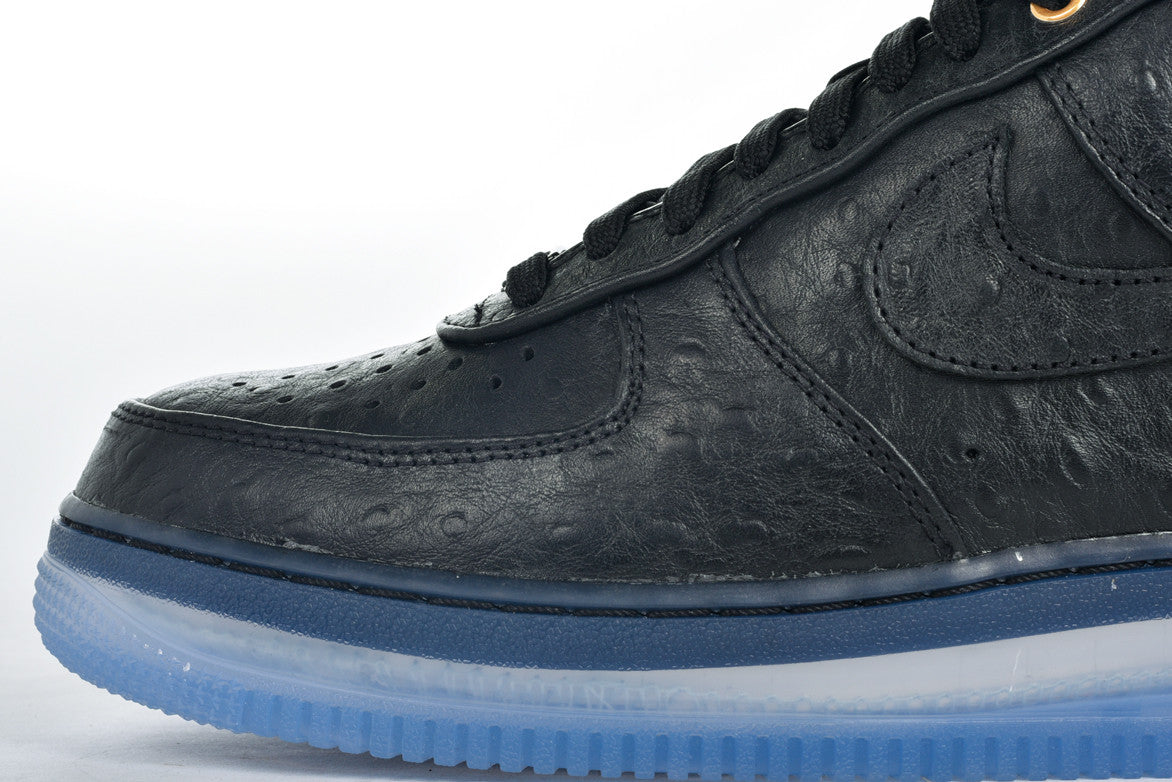 AIR FORCE 1 COMFORT LUX LOW - BLACK