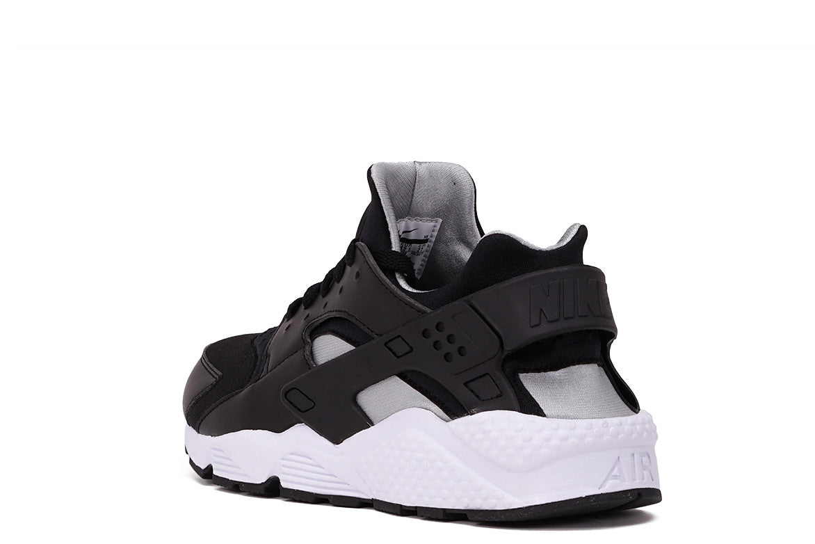 AIR HUARACHE - BLACK / FLAT SILVER / WHITE
