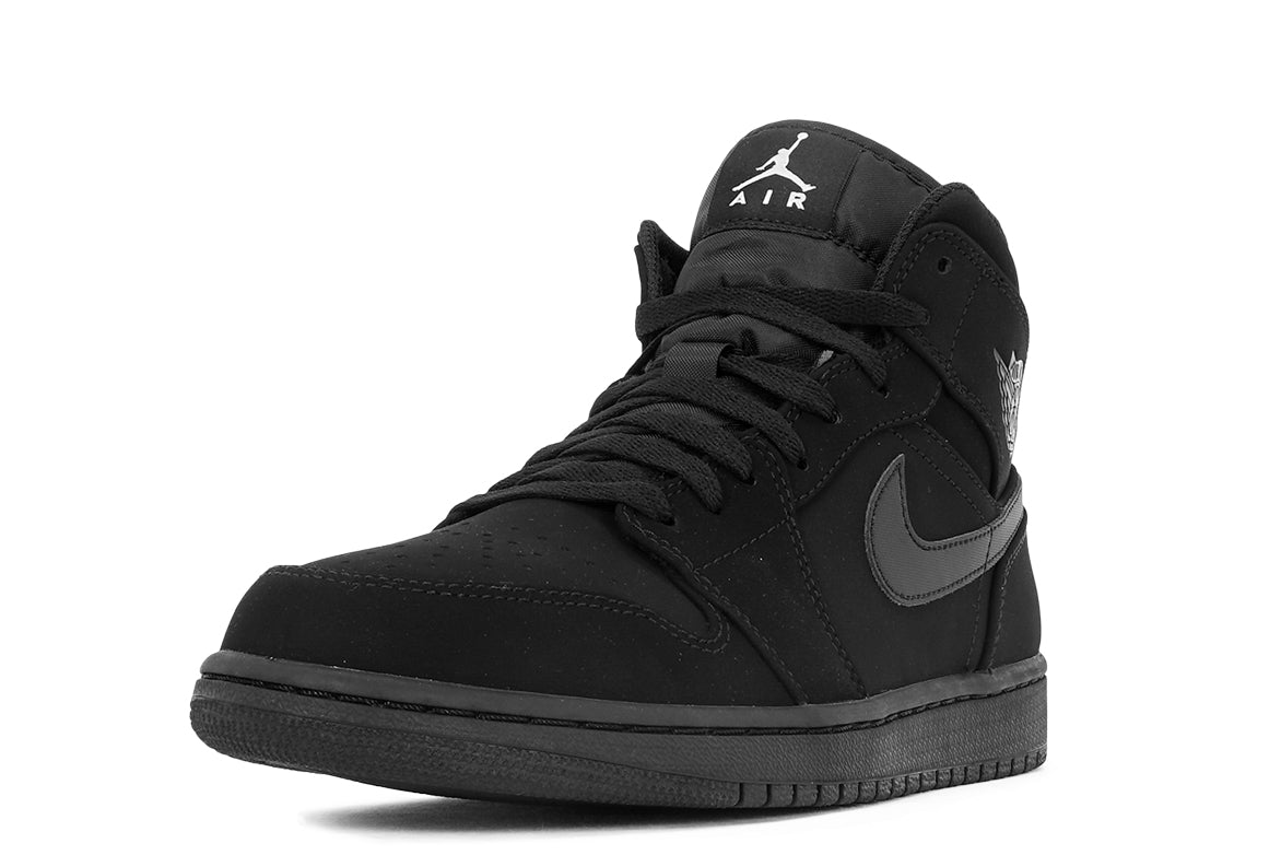air jordan 1 mid black suede city blue. Black Bedroom Furniture Sets. Home Design Ideas