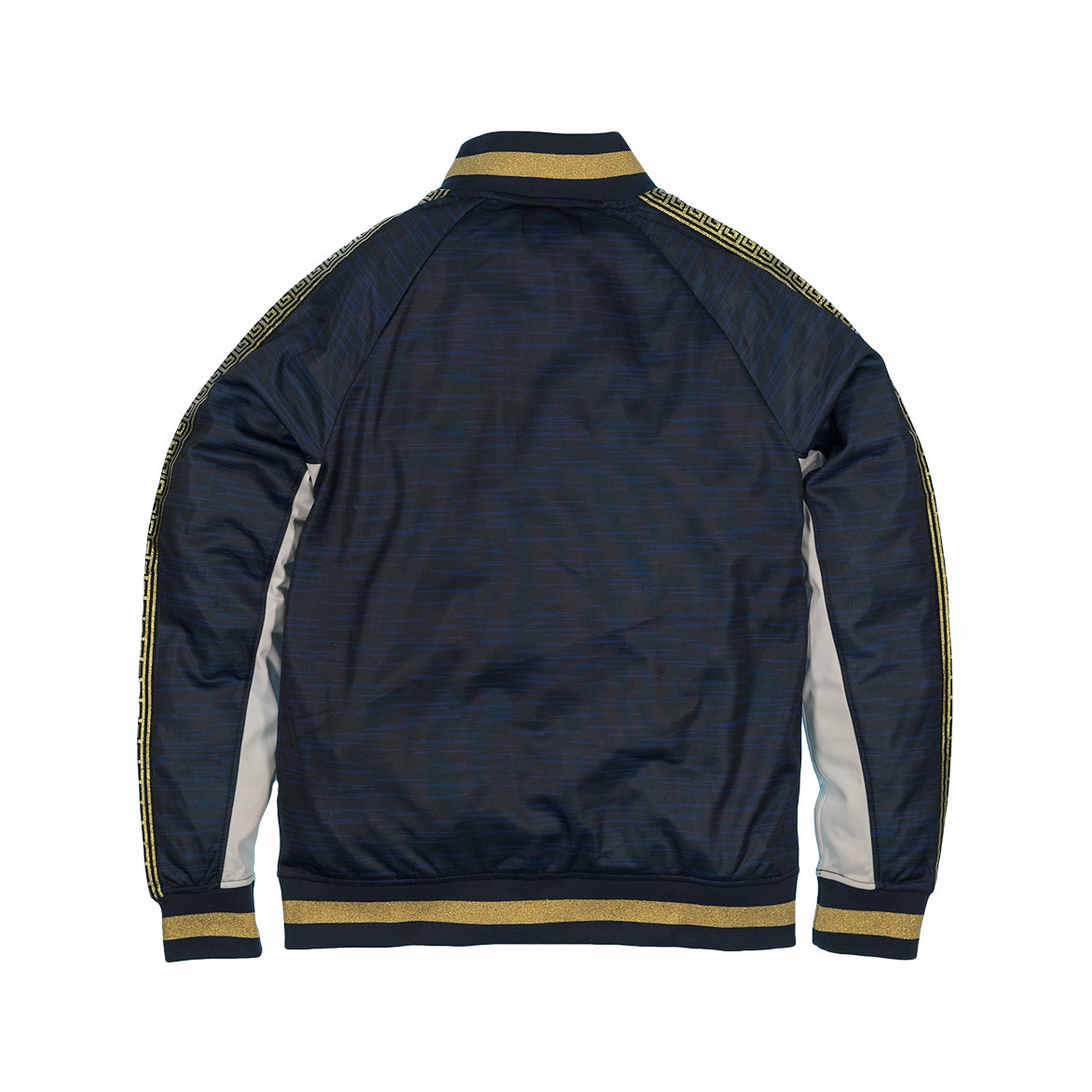 GOLD TAPE TRACK JACKET - NAVY