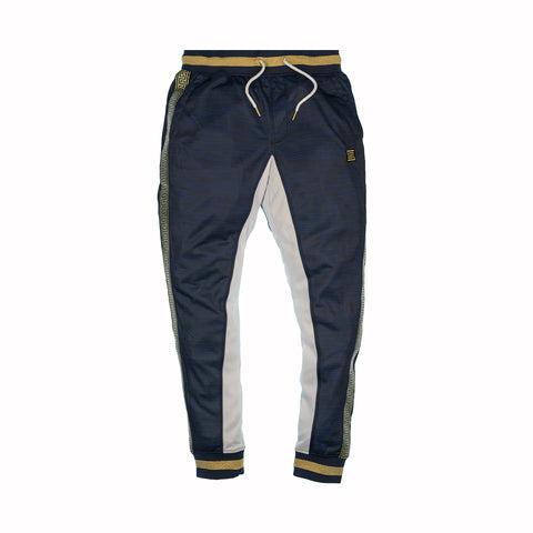 GOLD TAPE TRACK PANTS - NAVY