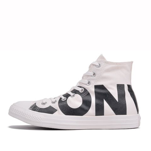 "CHUCK TAYLOR ALL STAR HI ""WORDMARK"" - NATURAL / BLACK"