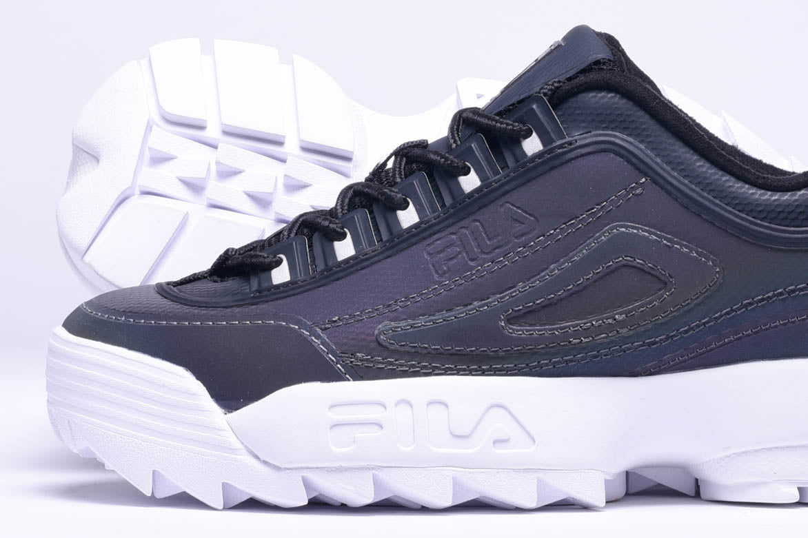 WMNS DISRUPTOR II PHASE SHIFT - BLACK / WHITE