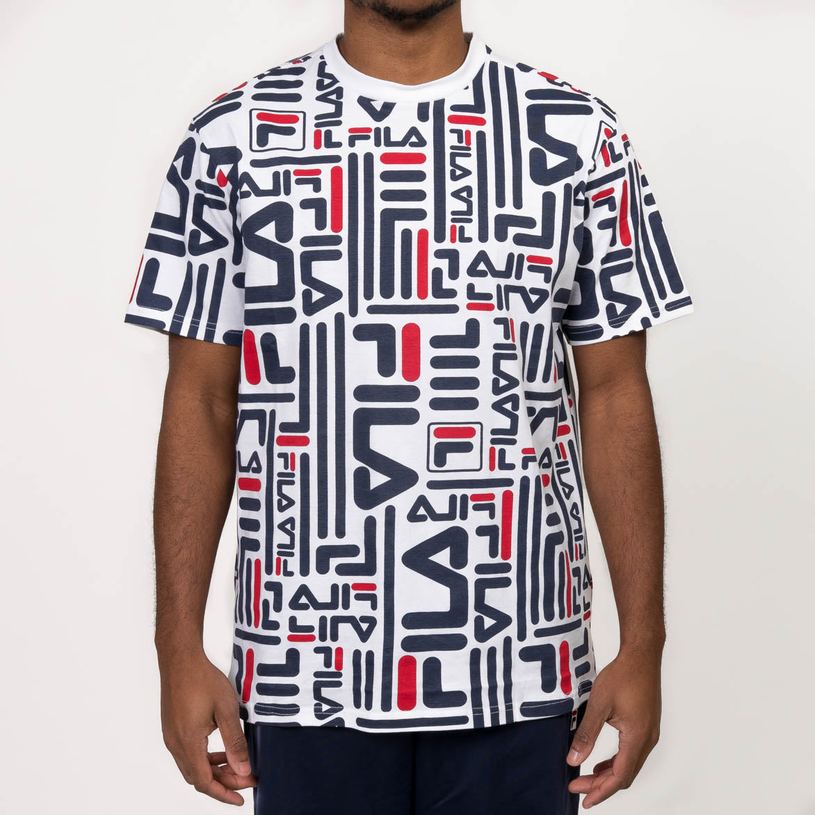 EDDIE TEE - WHITE / RED / NAVY