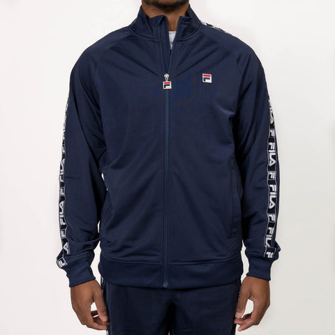TAG TRICOT JACKET - NAVY