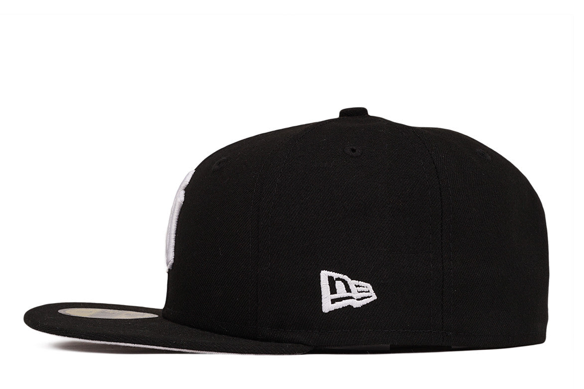 5950 PHILLIES FITTED - BLACK / WHITE