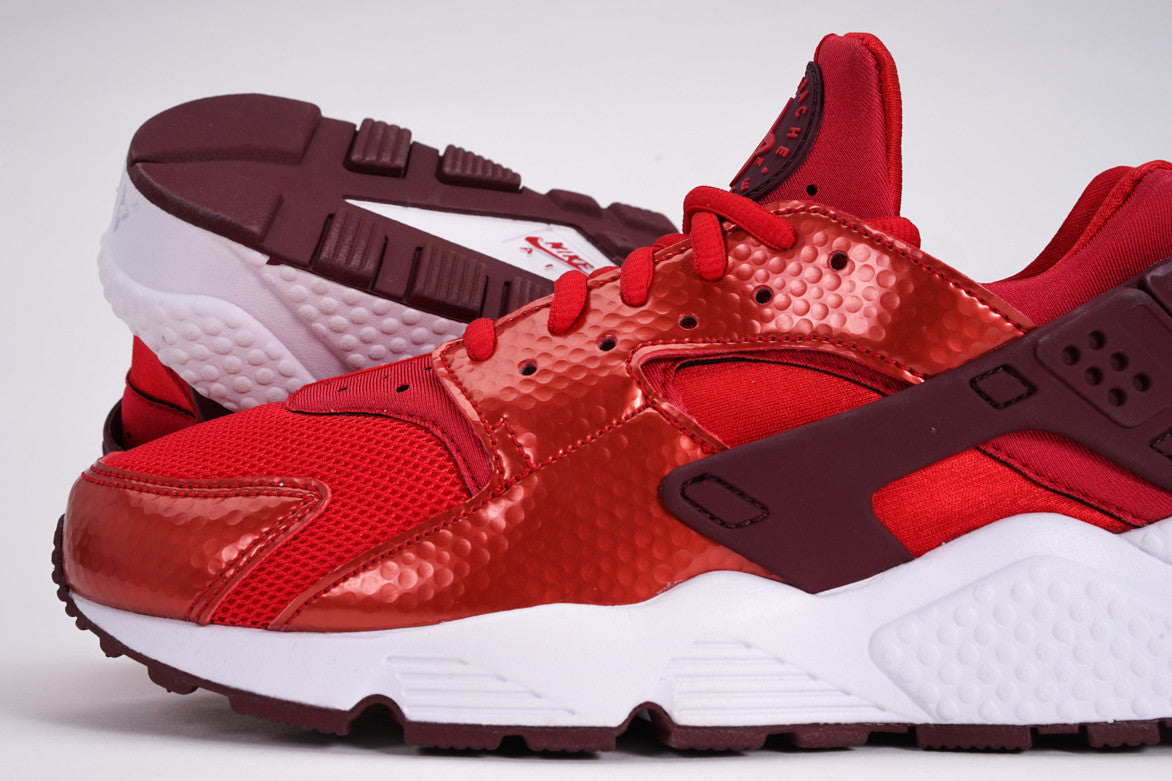 AIR HUARACHE RUN (WMNS) - UNIVERSITY RED