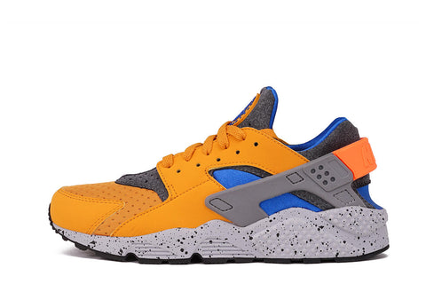 AIR HUARACHE RUN SE - GOLD LEAF / HYPER COBALT
