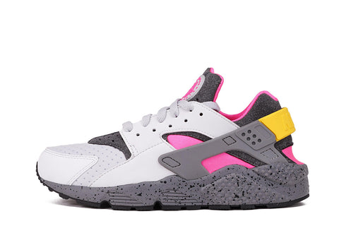 AIR HUARACHE RUN SE - PURE PLATINUM / PINK BLAST