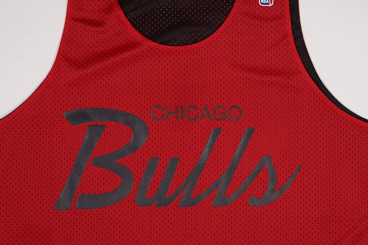 NBA DROP STEP REVERSIBLE JERSEY - BULLS
