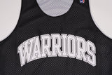 NBA DROP STEP REVERSIBLE JERSEY - WARRIORS