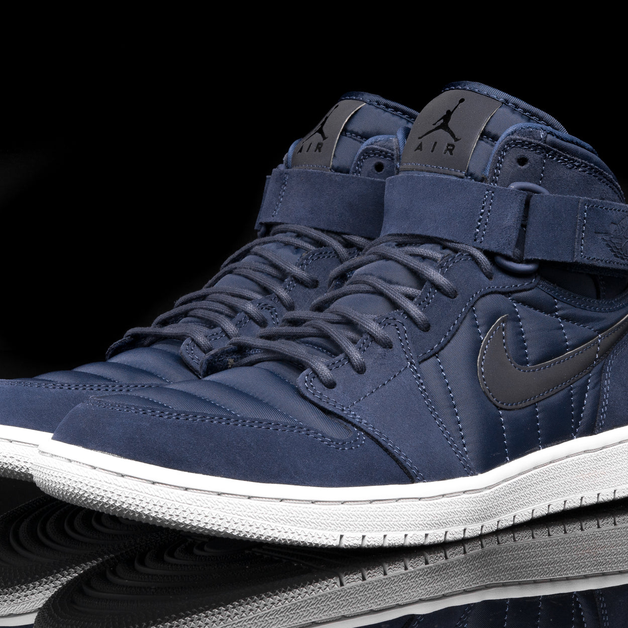 "AIR JORDAN 1 HIGH STRAP ""PADDED PACK"" - MIDNIGHT NAVY"