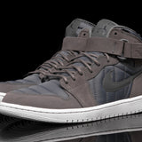 "AIR JORDAN 1 HIGH STRAP ""PADDED PACK"" - DARK GREY"