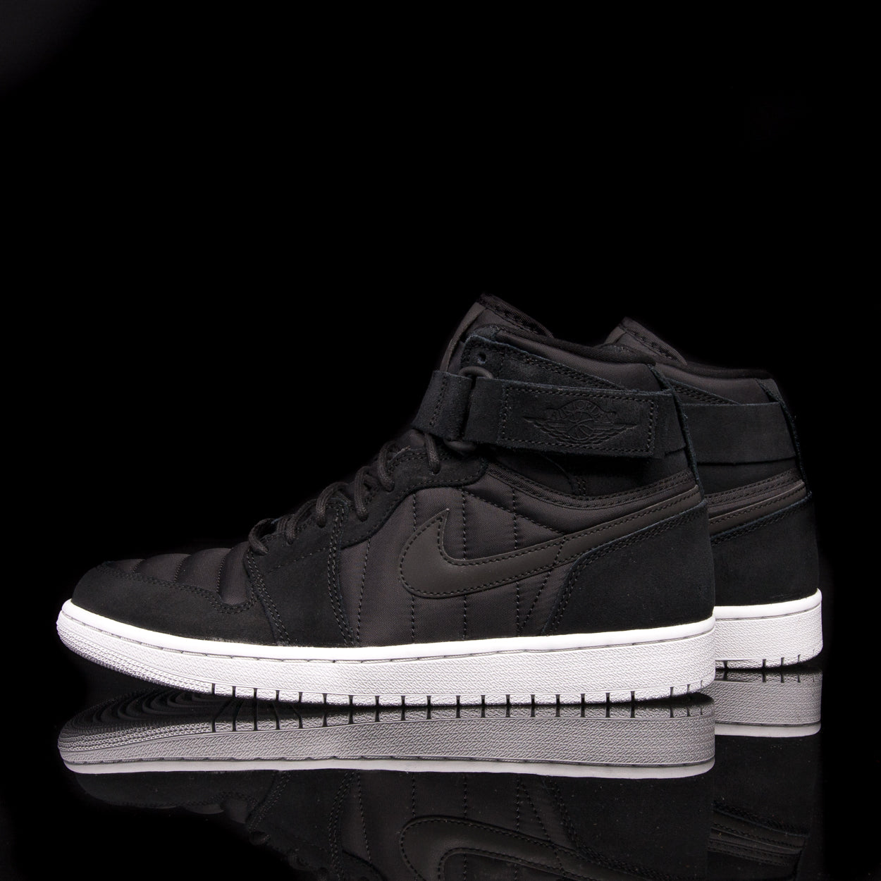 "AIR JORDAN 1 HIGH STRAP ""PADDED PACK"" - BLACK"