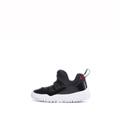 AIR JORDAN 11 RETRO LOW LITTLE FLEX (TD) - BLACK / GYM RED / WHITE