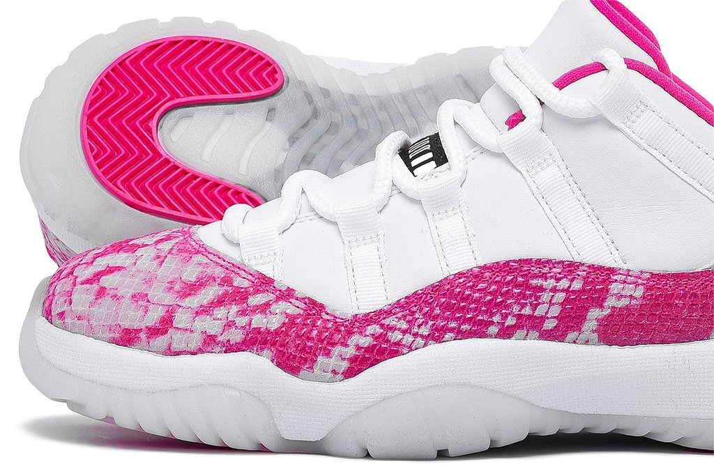 "WMNS AIR JORDAN 11 RETRO LOW ""PINK SNAKESKIN"""