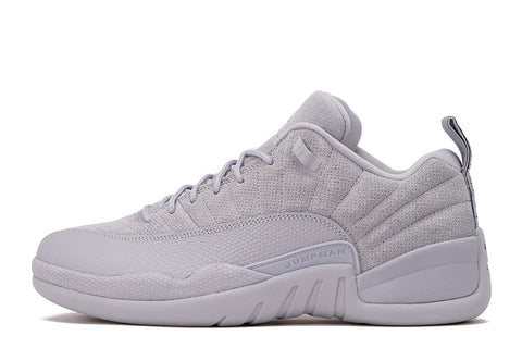 "AIR JORDAN 12 LOW RETRO ""WOLF GREY"""