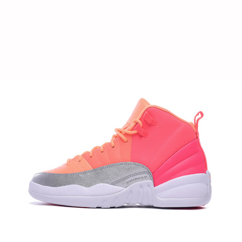 "AIR JORDAN 12 RETRO (GS) ""HOT PUNCH"""