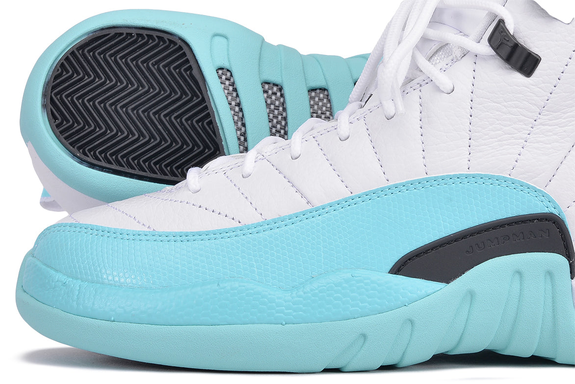 "AIR JORDAN RETRO 12 (GG) ""LIGHT AQUA"""