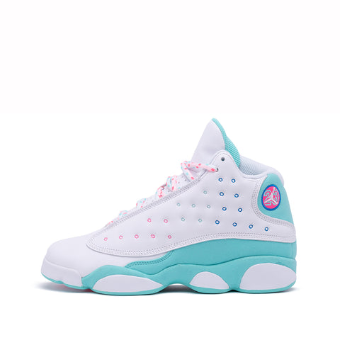 "AIR JORDAN 13 RETRO (GS) ""AURORA GREEN"""