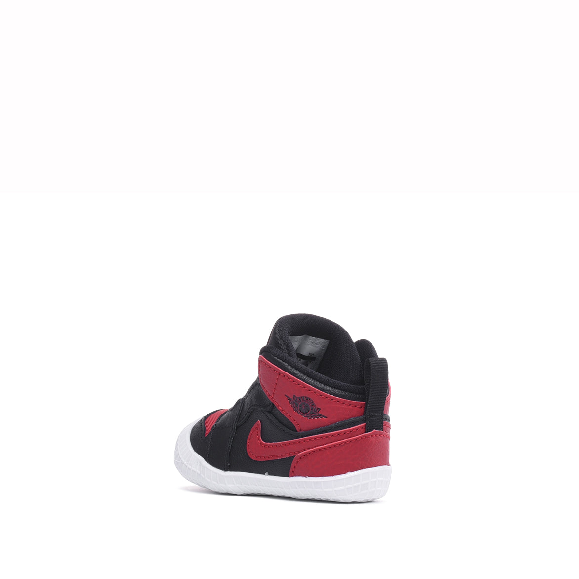 JORDAN 1 CRIB BOOTIE - BLACK / VARSITY RED / WHITE
