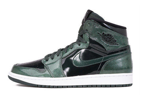 "AIR JORDAN 1 RETRO HIGH ""GREEN GROVE PATENT LEATHER"""