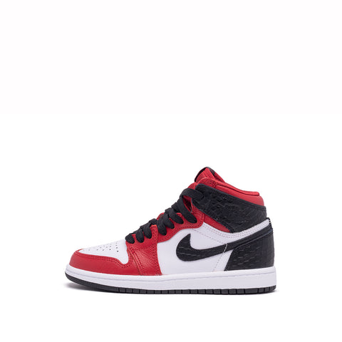 "AIR JORDAN 1 RETRO HIGH OG (PS) ""SATIN RED"""