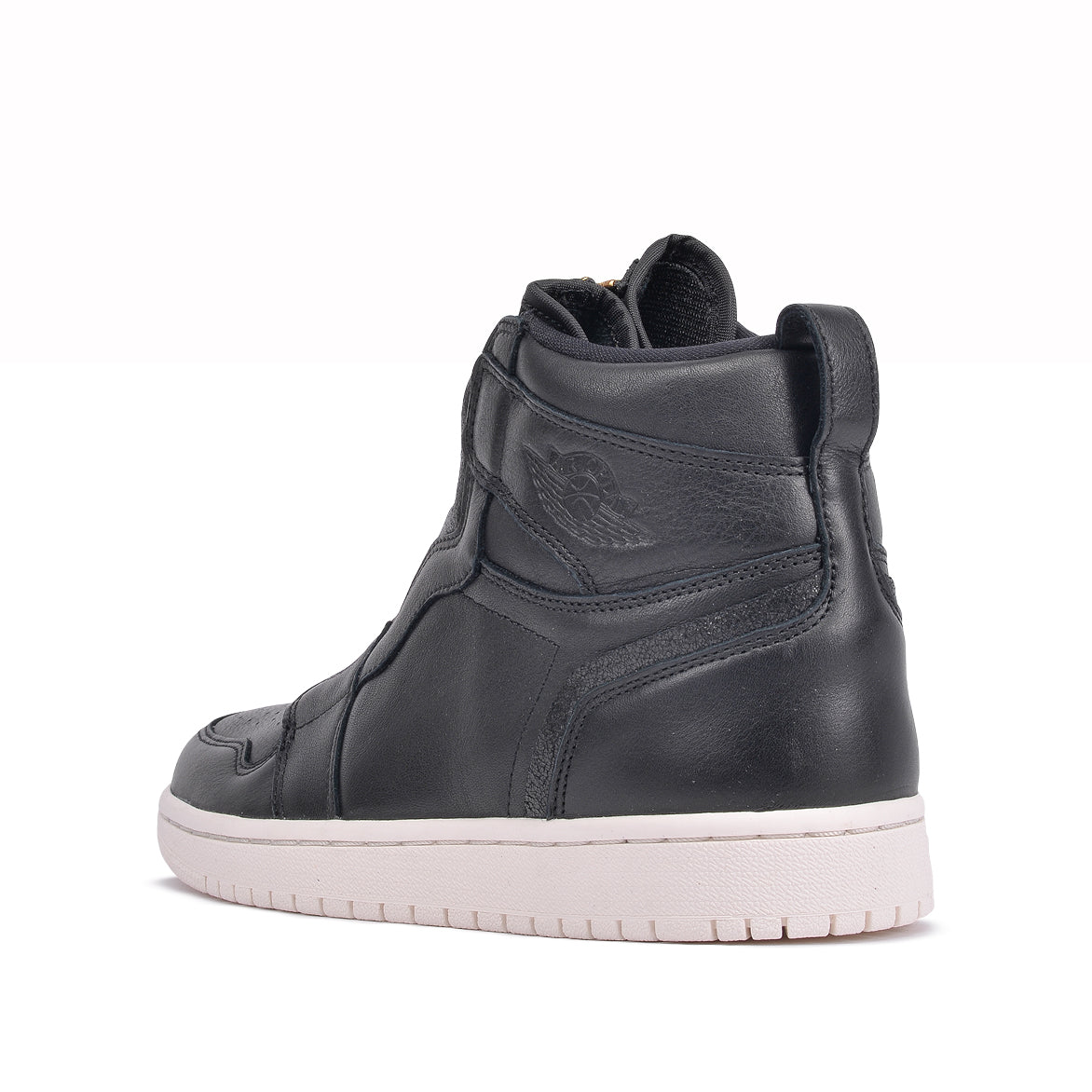 WMNS AIR JORDAN 1 HIGH ZIP - BLACK / SAIL