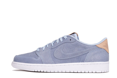 "AIR JORDAN 1 LOW OG PREMIUM ""VACHETTA TAN"" PACK - ICE BLUE"