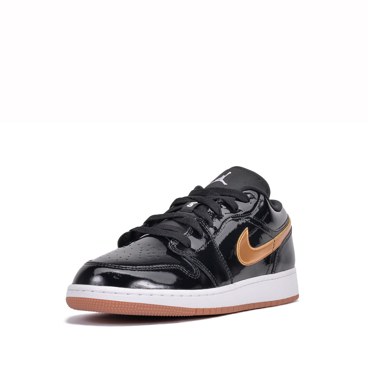 AIR JORDAN 1 LOW (GG) - BLACK / GOLD