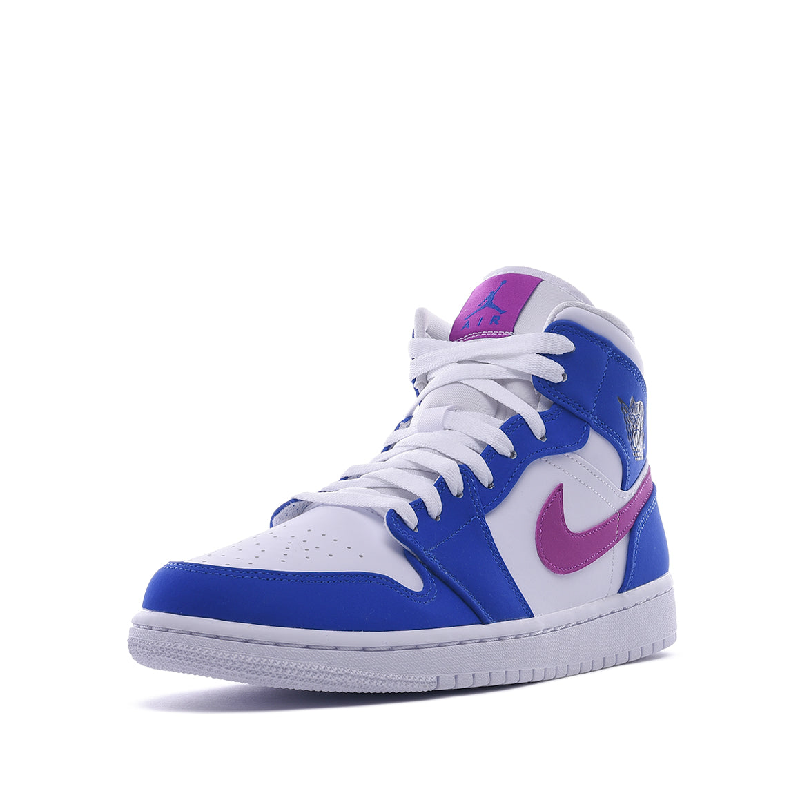 AIR JORDAN 1 MID - HYPER ROYAL / HYPER VIOLET