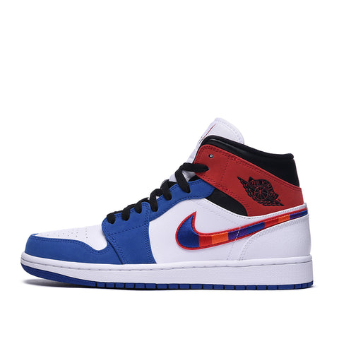 "AIR JORDAN 1 MID SE ""MULTI-COLOR SWOOSH"""