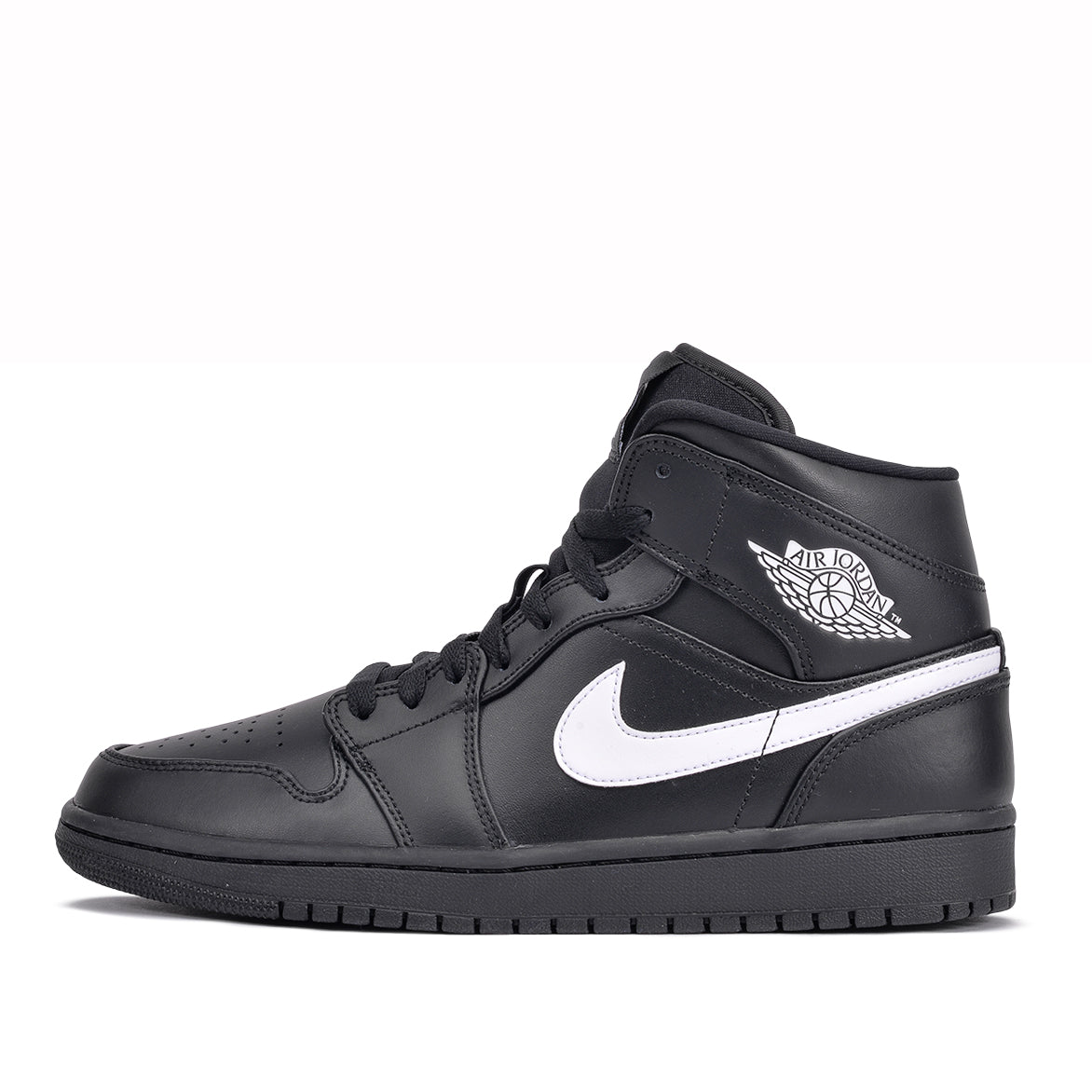 new arrival 1b95f e5d07 AIR JORDAN 1 MID - BLACK / WHITE