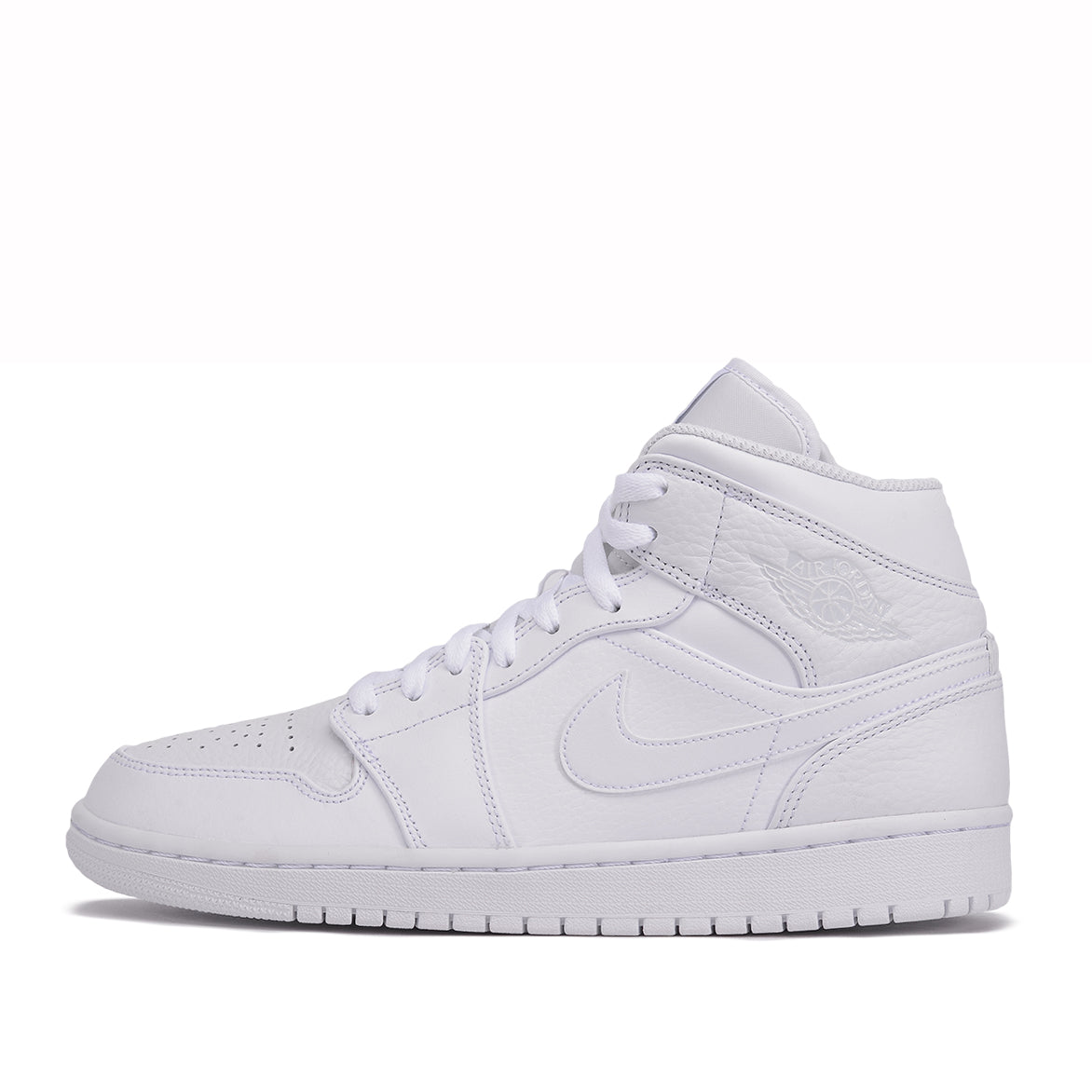AIR JORDAN 1 MID - WHITE / PURE PLATINUM