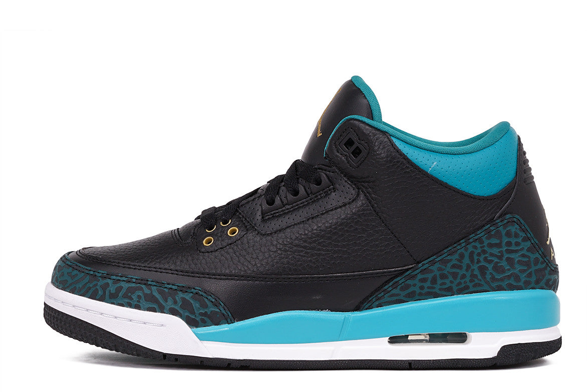 "AIR JORDAN 3 RETRO (GS) ""RIO TEAL"""